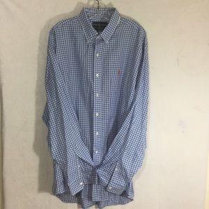 POLO RALPH LAUREN 💯Blake gingham new button shirt